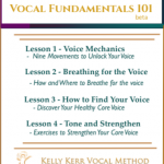 Vocal Fundamentals 101 beta