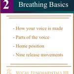 Lesson Two – Breathing Basics